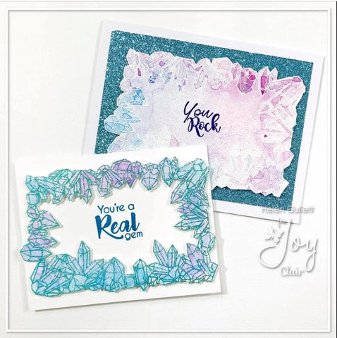 Joy Clair - Crystal Background | Clear Stamps