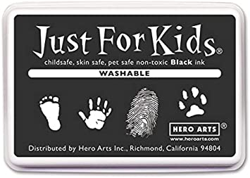 Hero Arts - Just for Kids Ink Pads - Washable Black