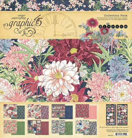 """Graphic 45 - Blossom Collection Pack 12"""" x 12"""""""