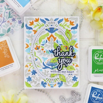 Pinkfresh - Simply Sentiments: Thank You Stamp Set