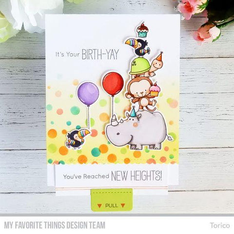 My Favorite Things - Card-Sized Confetti Stencil Set