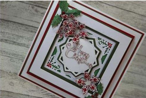 John Next Door - Clear Stamp - Shaded Holly