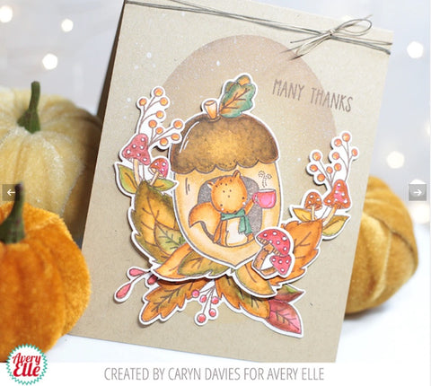 Avery Elle - Nuts Clear Stamps
