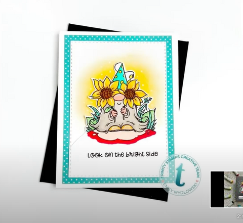 Trinity Stamps - 3x4 Bright Side Stamp Set