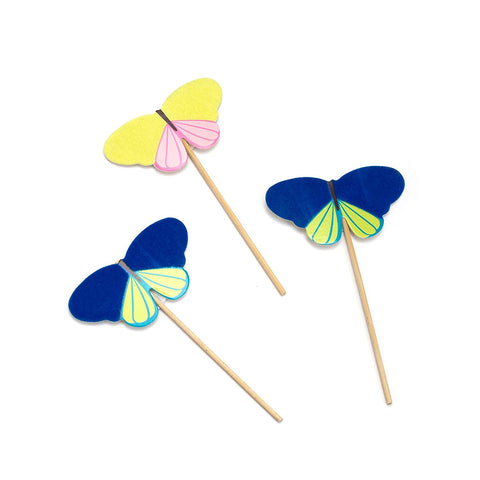Homemade With Love - Treat Toppers - Butterfly (12 pieces)