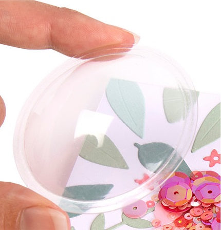 "Sizzix Accessory - Shaker Domes Circle 2"" 8PK"