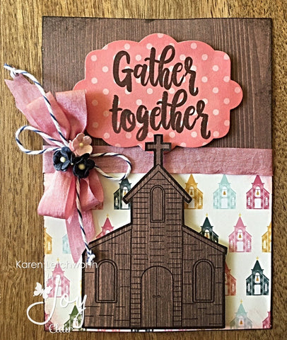 Joy Clair - Gather Together | Bible Journaling Clear Stamps