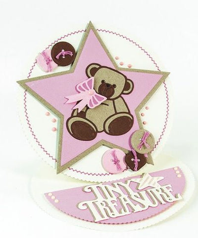 Tonic Studios - Rococo - Baby Collection Die Sets - Cuddly Bears