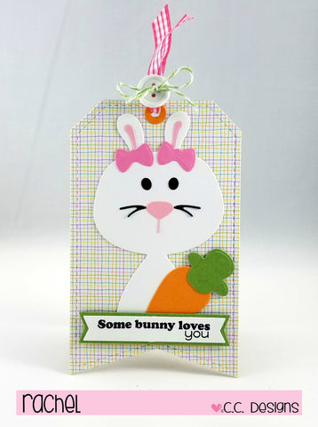 C.C. Designs - Bunny Accessories Metal Die