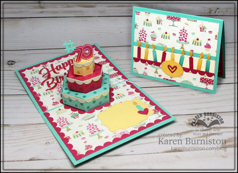 Karen Burniston - Cake Pop-Up Die Set