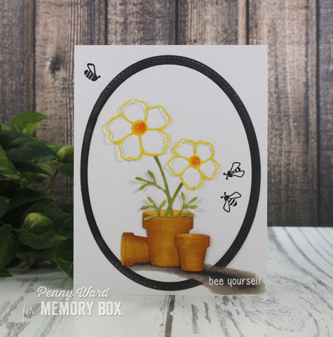 Memory Box - Bee Yourself Clear Stamp