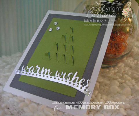 Memory Box - Folding Tree Craft Die