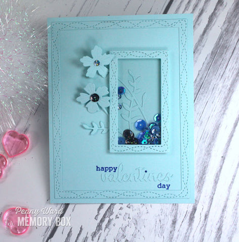 Memory Box - Wirework Hearts Stamp and Die
