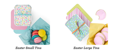American Crafts - Homemade With Love - Small Treat Tins - Easter (3 pack)