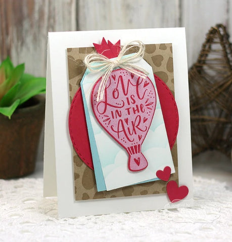 Taylored Expressions - Flip the Script - Love - Stamp & Die Combo