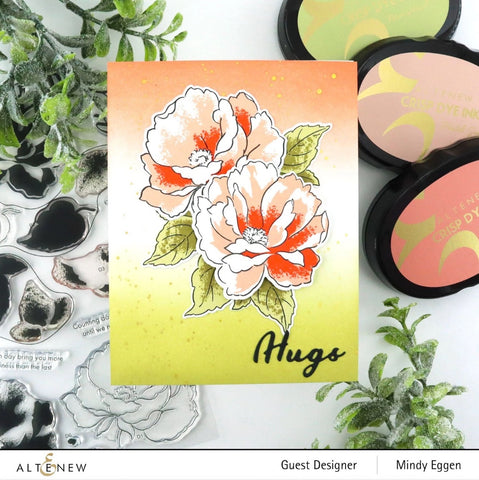 Altenew - Airbrushed Flowers Stamp Set