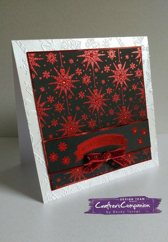 Crafter's Companion Foil Transfer - Christmas - Traditional