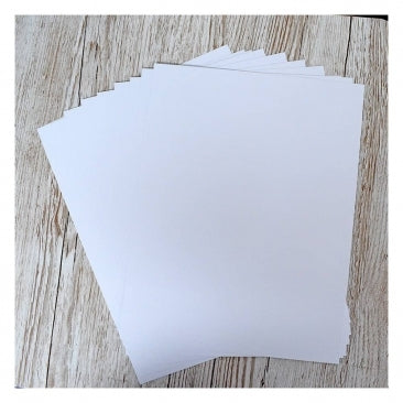 """Heffy Doodle 8.5"""" x 11"""" White Cardstock (20 sheets)"""