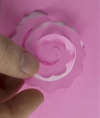 Quilled Creations Quilling Dies - Blooming Roses