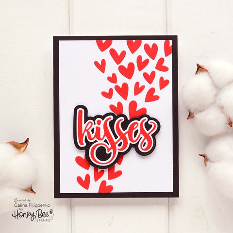 Honey Bee - Fluttering Hearts Cover Plate | Honey Cuts