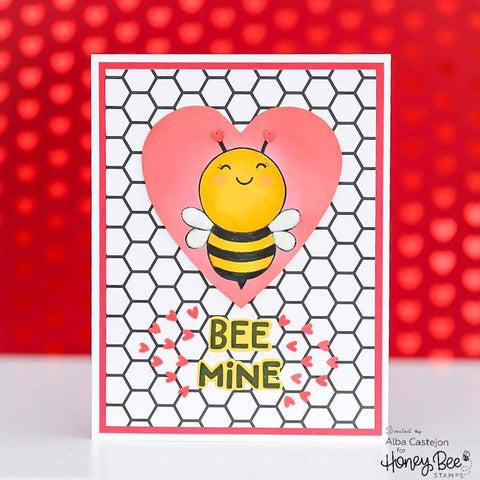 Honey Bee - Paper Pad 6x6 | 24 Double Sided Sheets | Back To Basics