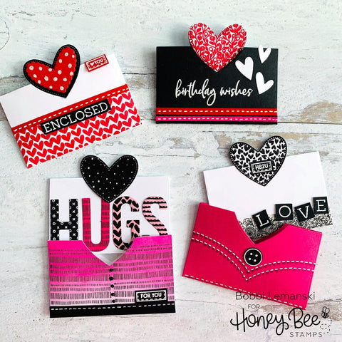 Honey Bee - Heartfelt Pocket | Honey Cuts