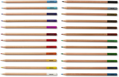 Reeves - Wooden Box Pencil Sets