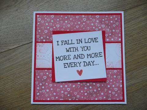 Crafter's Companion Clear Acrylic Stamp - More & More Every Day