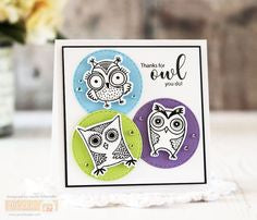 Gina K Designs - Wise Old Owl