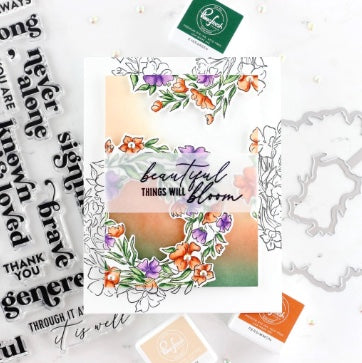 Pinkfresh - Known and Loved Layering Stencil Set