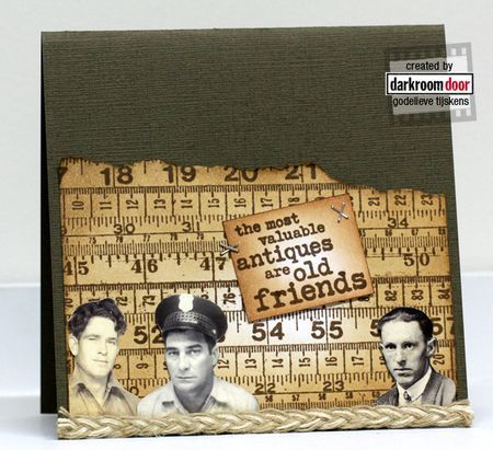 darkroom door Photo Booth Card Kit - Friends and Lovers
