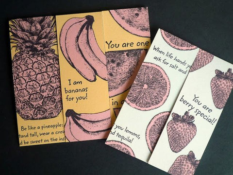 Darkroom Door  - Tropical Fruit Stamp