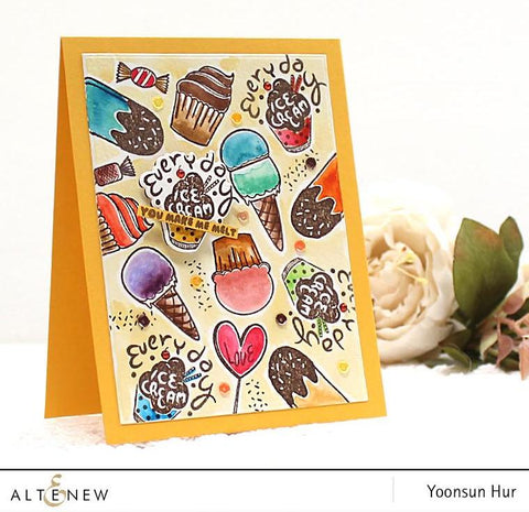 Altenew Mini Ice Cream Stamp & Die Bundle
