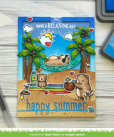 Lawn Fawn - Happy Summer Line Border Dies