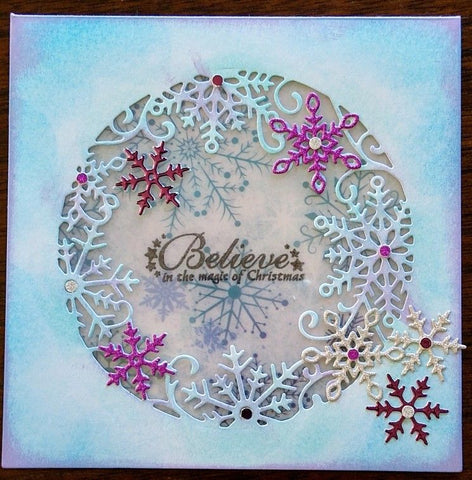 Crafter's Companion - Sara Signature Collection - Frosted Flurry Die