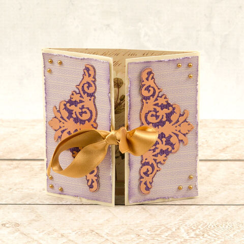 Couture Creations - Butterfly Garden - Mini Die - Ornate Corners