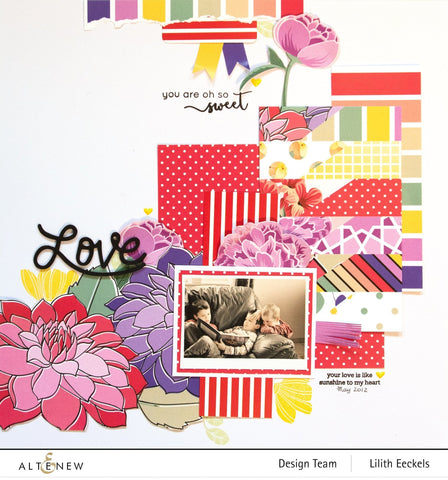 Altenew - 6 x 6 inch Paper Pack - Sweet & Fabulous - Cheerful Meadow
