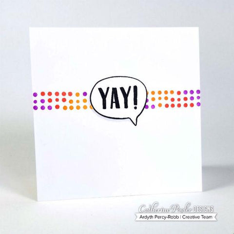 Catherine Pooler - Punctuated Party Stamp Set