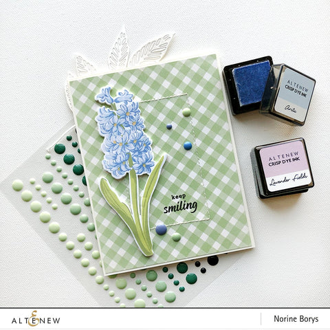 Altenew - Build-A-Flower: Hyacinth Stamp, Die & Ink Bundle
