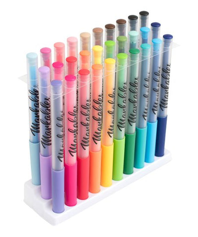 American Crafts - Markables Fabric Markers Multicolor 30 Piece