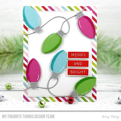 My Favorite Things - Merry & Bright Stamp