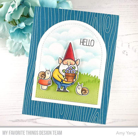 My Favorite Things - BB You Gnome Me Stamp and Die-namics