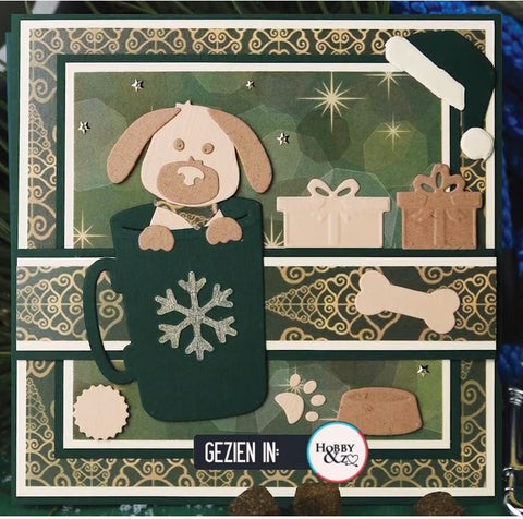 Amy Design - Christmas Pets - Christmas Dog Dies