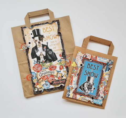 Graphic 45 - Well Groomed Gift Bags