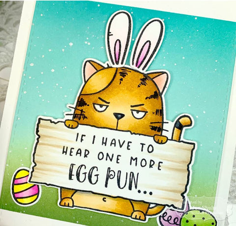 Taylored Expressions - Stamp - Big Grumpy - Easter