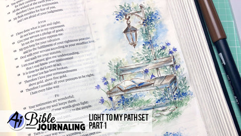 Art Impressions - Light to my Path Stamp Set