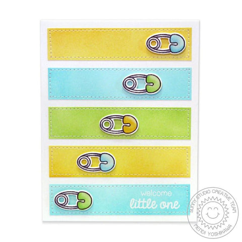 Sunny Studio Stamps - Baby Bear Stamp and Die