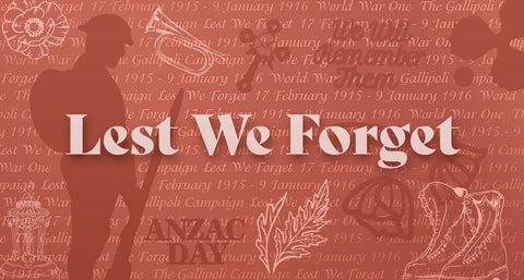 Couture Creations - Lest We Forget Collection