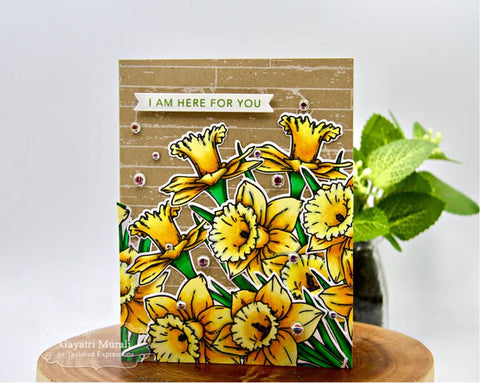 Taylored Expressions - Stamp - Big Blooms - Daffodils