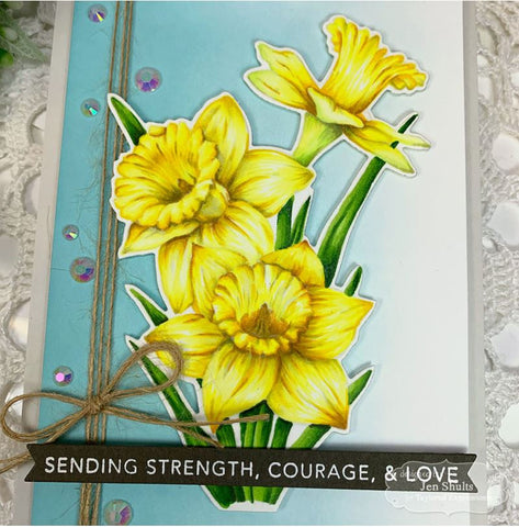 Taylored Expressions - Die - Big Blooms - Daffodils